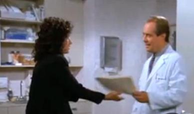 Elaine in Seinfeld