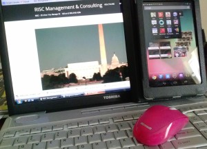 Full color laptop tablet