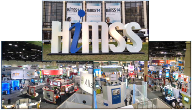 HIMSS14 collage