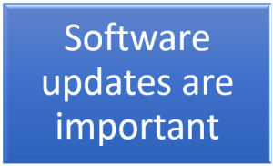 Software updates are important