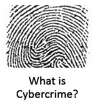 What is cybercrime graphic
