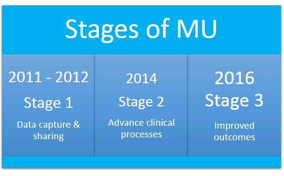 Stages of MU